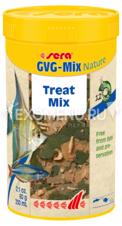Корм для рыб Sera GVG-Mix Nature 100 мл (22 г).
