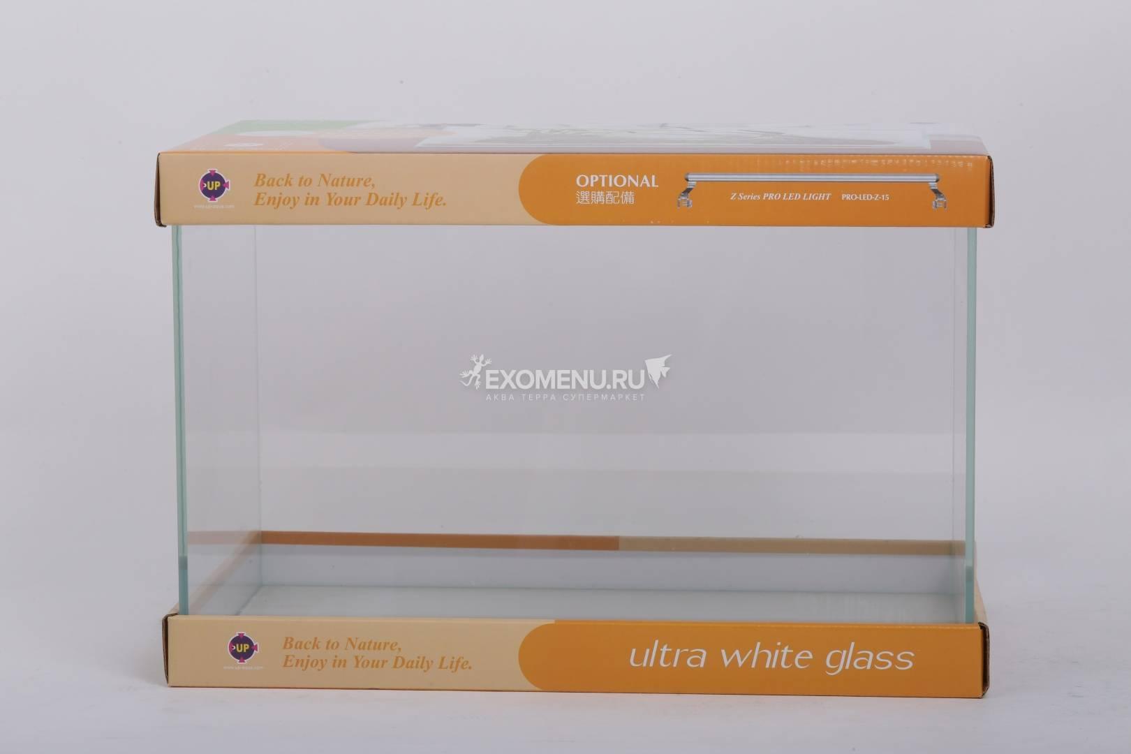 UpAqua Crystal Glass Tank L, 36 л