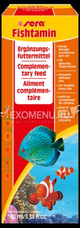 Sera Fishtamin 100 мл. витаминный препарат.
