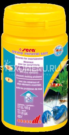 Средство для воды SERA SHRIMP MINERAL SALT 100 мл (105г)