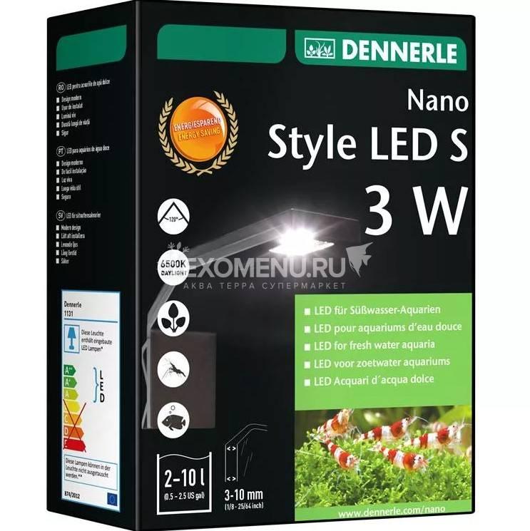 Dennerle Nano Style LED S - LED светильник для нано-аквариума, 3 Вт