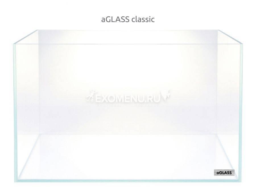 Аквариум Collar AquaLighteraGLASS Classic 17 л  (310х215х260х5мм) сверхпрозрачное стекло