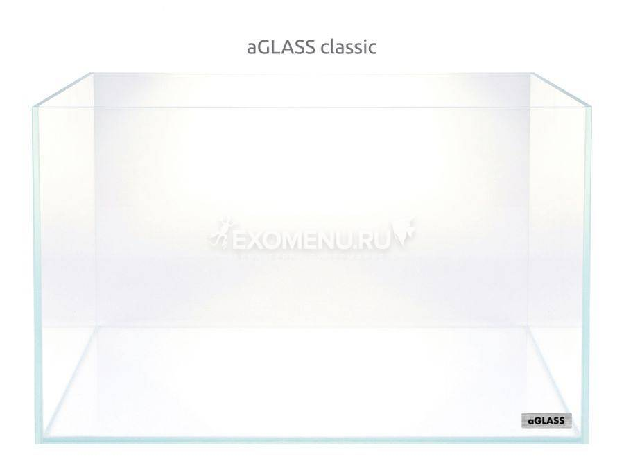 Аквариум Collar AquaLighteraGLASS Classic 24 л  (360х245х280х5мм) сверхпрозрачное стекло