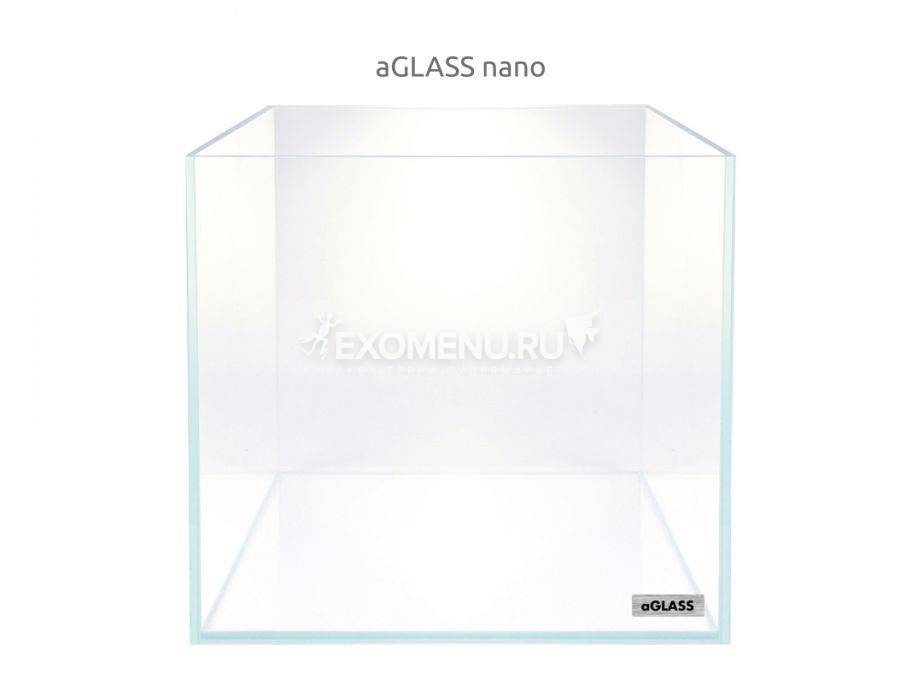 Аквариум AquaLighter aGLASS nano, 15 л, 25х25х25 см