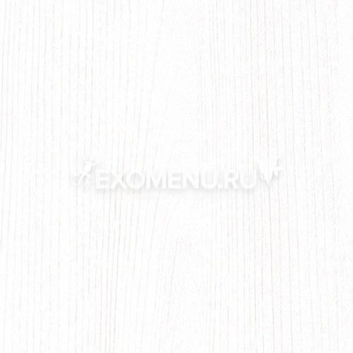 Пoдставка фигурная 100 (1010Х410Х710) с одной дверкой МДФ со стеклом, белое дерево, собранная, ПВХ
