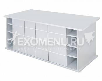 Подставка Biodesign ALTUM 700, 181х61х79 см, белёный дуб, без дверок