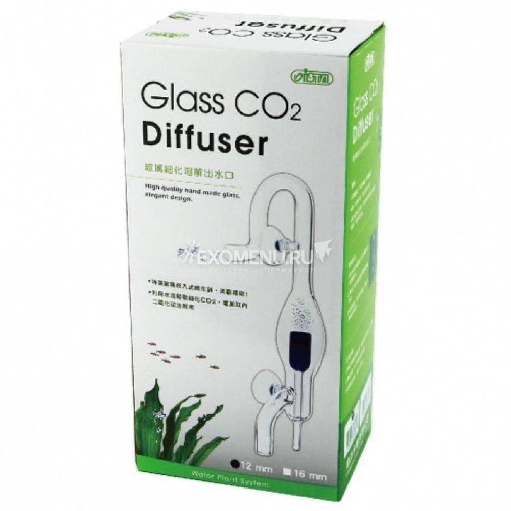 Диффузор СО2 из стекла для внешнего фильтра 12мм.