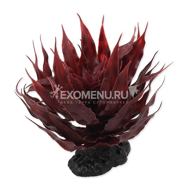 Растение пластиковое красное Агава 18 см