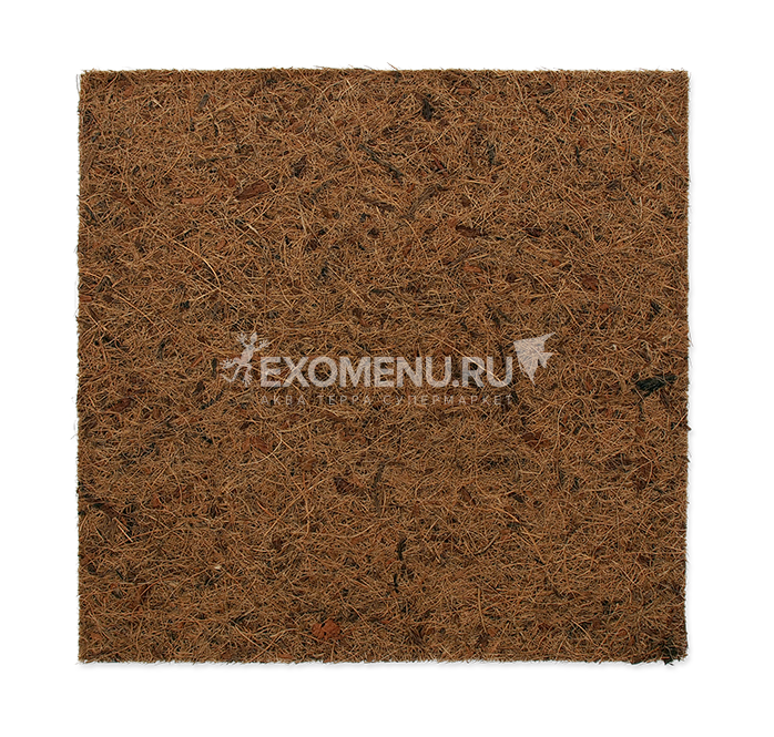 Террариумный фон из кокосового волокна для террариума 30х30 см