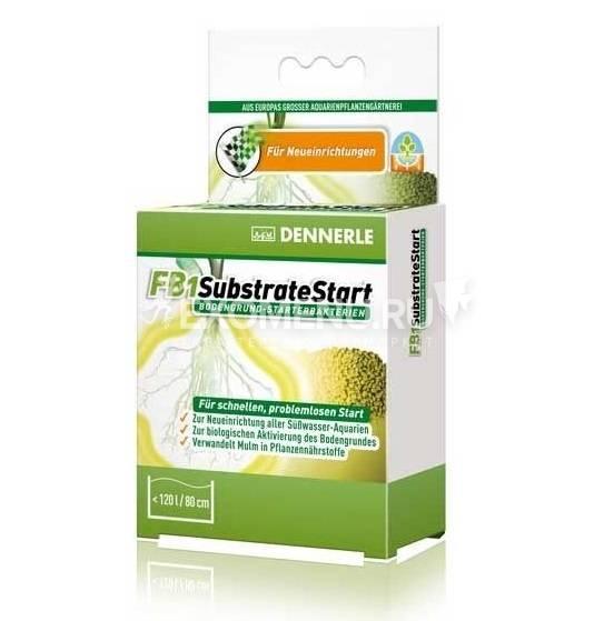 Dennerle FB1 SubstrateStart - Высокоактивная смесь грунтовых бактерий, 50 г на 120 л
