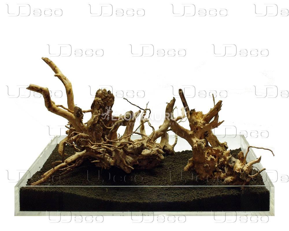 UDeco Desert Driftwood Aquascape - Набор для оформления акваскейпов из нескольких натуральных