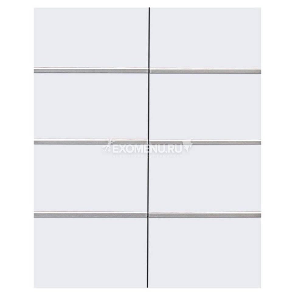 Дверки Ф-300 для подставки ALTUM 200/450/700/ ALTUM PANORAMIC 200/450/700 (белый) плита ЛДСП 16 мм, кромка ПВХ 0,45 мм, 2 шт.