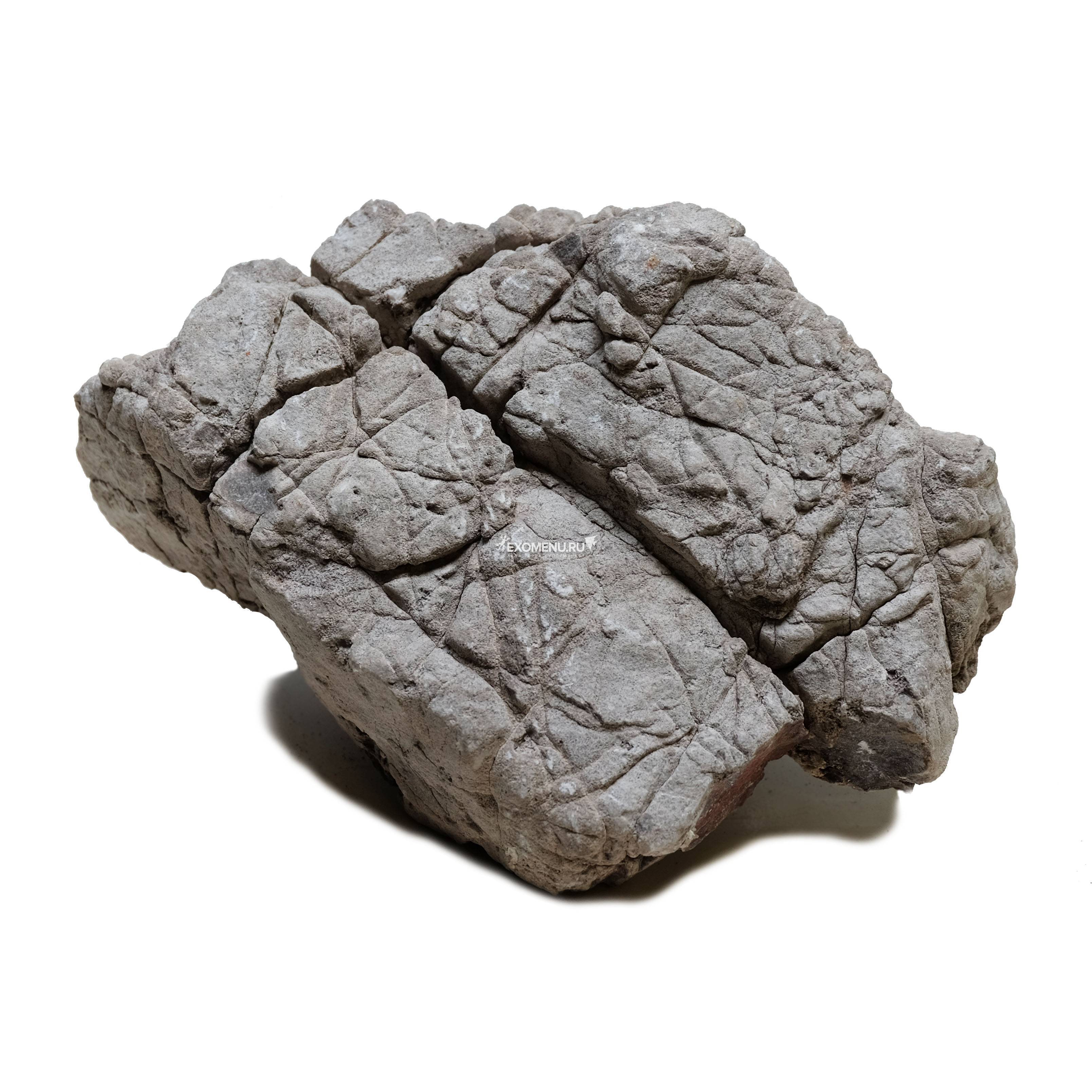 Декорация природная PRIME Камень серый Лао S 10-20 см фото